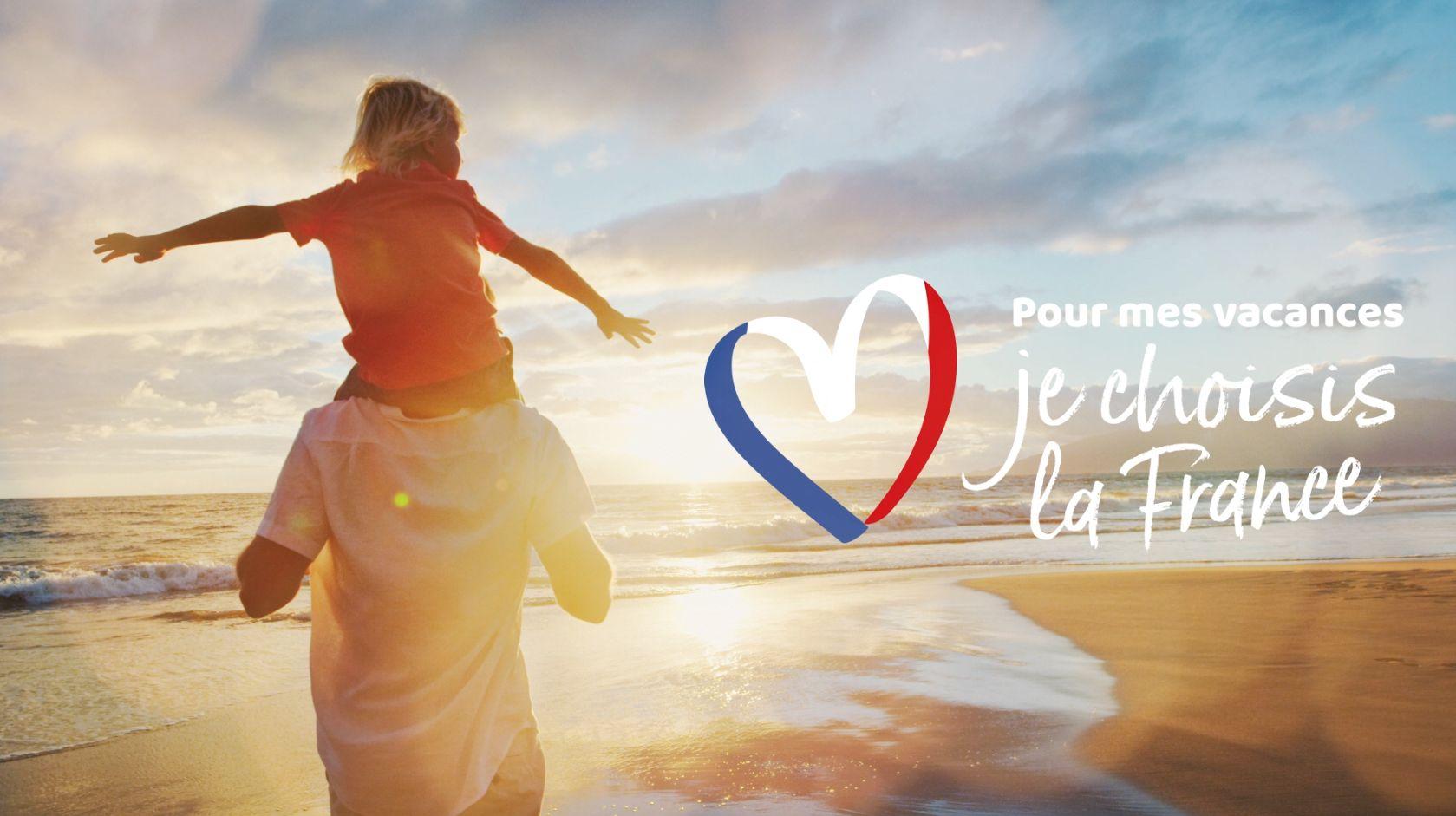Pour mes vacances, je choisis la France