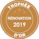 Trophée Rénovation 2019